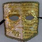 Mask Mardi Gras Mardi Gras El Medico Ivory Gold Musical