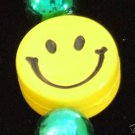 Mardi Gras HAPPY SMILEY FACE New Orleans Bracelet FUN