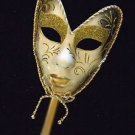 Venetian Full Stick Mask Your Choice Color Mardi Gras Costume Prom Party