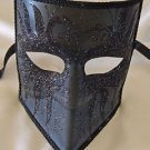 Venetian Mask Bauta Black Swan Mardi Gras Halloween Costume Party Italy Drama