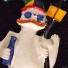 All Ducked Up Drunk Duck Mardi Gras Beads