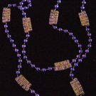 GEAUX TIGERS Large Strand Mardi Gras Necklace Beads