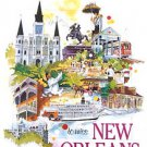 Do You Know What It Means to Miss New Orleans Artist Rawlinson Mardi Gras