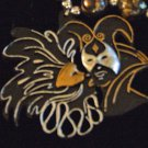 Masquerade Faces Couple Mardi Gras New Orleans Beads