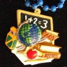 School Days Globe Chalk Mardi Gras Beads New Orleans