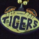 Tiger Tigers Mardi Gras Necklace Beads Paw CLAWS GEAUX