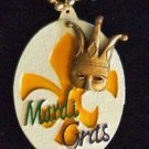Fleur de Lis Art Mardi Gras Bead Necklace YOUR CHOICE MANY STYLES New Orleans
