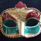 Braided Eye Mask Your Color Choice Mardi Gras New Orleans Halloween Costume