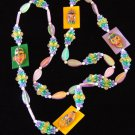 TRIBAL PEOPLE TRIBES Costume Dress Mardi Gras Beads