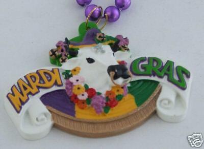 Boeuf Gras New Orleans Mardi Gras Bead Bull Ox Bead