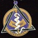 DENTISTRY Emblem Dentist Tooth Teeth Mardi Gras Bead Necklace Care Medallion