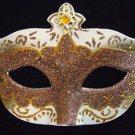 Portofino Costume VENETIAN Mask Bronze & Ivory Costume