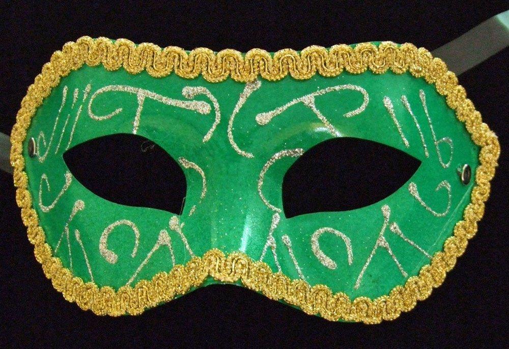 Venetian Masquerade Ball Party Mask Eye Halloween Green