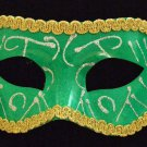 Venetian Masquerade Ball Party Mask Eye Halloween Green
