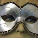 SILVER BULLET Unisex Classic Masquerade Ball Party Mask