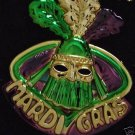 MARDI GRAS DUKE FANCY TWIST PGG MG BEAD KING Beads Party Costume
