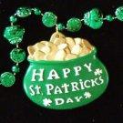 IRISH POT OF GOLD Ireland Mardi Gras Beads New Orleans