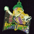 MASKED LADY BALCONY Throws Mardi Gras Necklace Beads