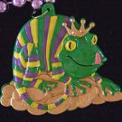 Jester King Lizard New Orleans Beads Carnival Party Bourbon Street Party Bead