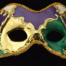 Venetian Mask Full Face HALLOWEEN Colors ANTIQUE DRAMA