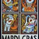 Amzie Adams Art 1995 Mardi Gras Music Festival New Orleans Carnival