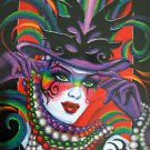 Mistretta 2012 Illusion Signed by Famous Artist #121 Mardi Gras Art New Orleans