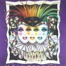 Mistretta 1995 Colors Signed by Famous Artist #294 Mardi Gras Art New Orleans