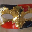 Venetian Masquerade Mask GOLD CREST Eye Halloween Party Costume Mardi Gras Prom