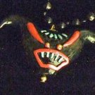 Voodoo Demon Head Mardi Gras Bead New Orleans Teeth