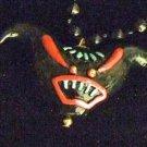 Voodoo Demon Head Mardi Gras Bead New Orleans Teeth