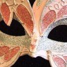 STARFIRE Venetian Masquerade Mardi Gras PINK SILVER