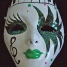 Venetian Theatre Mask YOUR CHOICE COLOR Mardi Gras Costume New Orleans Party