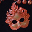 Venetian Mask Mardi Gras Bead Necklace YOUR CHOICE New Orleans Beads Parade