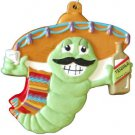 TEQUILLA WORM Bottle New Orleans Mardi Gras Beads Party Cinco de Mayo