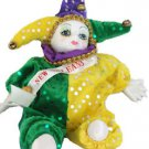 Porcelain Baby Clown Doll Mardi Gras PGG New Orleans