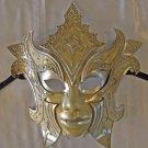 Gladiator White VENETIAN Mask Halloween Mardi Gras Carnival Costume Prom Party