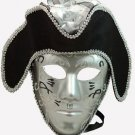 Pirate Mask Man Mens Your Choice Colors Mardi Gras Masquerade Halloween Costume