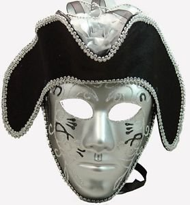 Pirate Mask Man Mens Your Choice Colors Mardi Gras Masquerade Halloween Costume