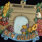 FRENCH MARKET ENTRANCE New Orleans Mardi Gras Beads