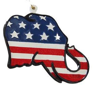 RNC Elephant Republican Mardi Gras Bead Necklace Bourbon Street New Orleans