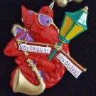Crawfish Party Bead Necklace YOUR CHOICE New Orleans Beads Cajun Seafood Creole