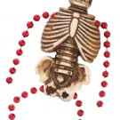 Pirate Skeleton Gras Bourbon Street Mardi Gras Beads New Orleans Bayou Cajun