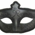 Black Eye Mask Goth Halloween Mardi Gras Costume Masquerade Costume Party