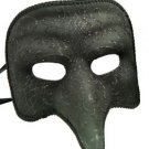Nasone Venetian Mask Black Sparkle Your Choice Style Mardi Gras Halloween Party