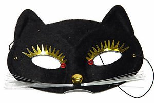 Cat Face Party Mask Your Choice Style Costume Mardi Gras Halloween Masquerade