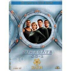 Brand new Stargate SG-1 Season 10 DVD BOX SET.