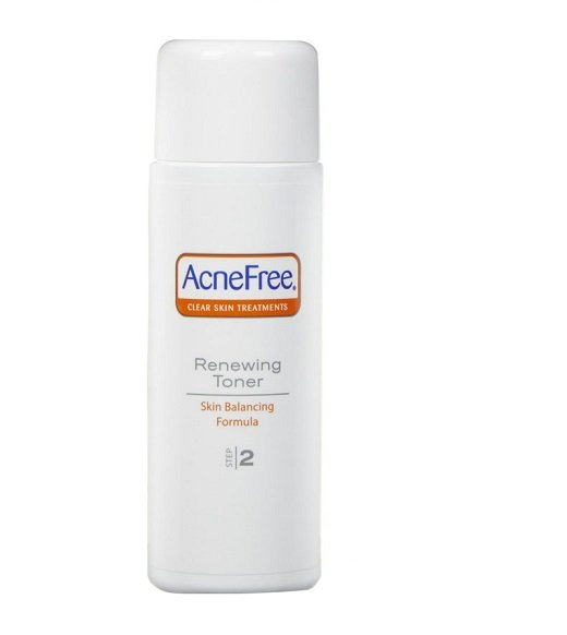 AcneFree 24 Hour Acne Clearing System (Step 2) - Renewing Toner (4 fl oz/118 ml)