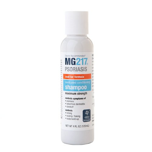 MG217 Conditioning Coal Tar Formula Shampoo 4 fl oz (120 ml)