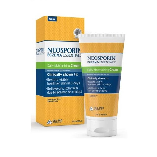 Neosporin Eczema Essentials Daily Moisturizing Cream 6 oz (170 ml)