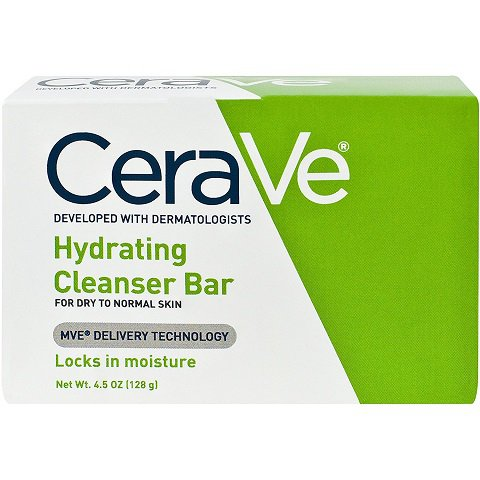 CeraVe Hydrating Cleansing Bar (4.5 oz/ 128 g)